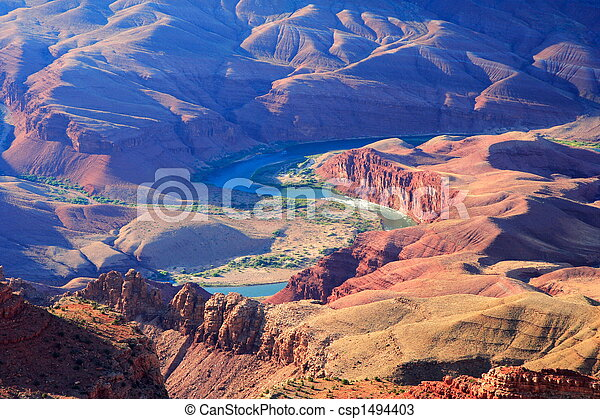 Grand Canyon / Colorado River - csp1494403