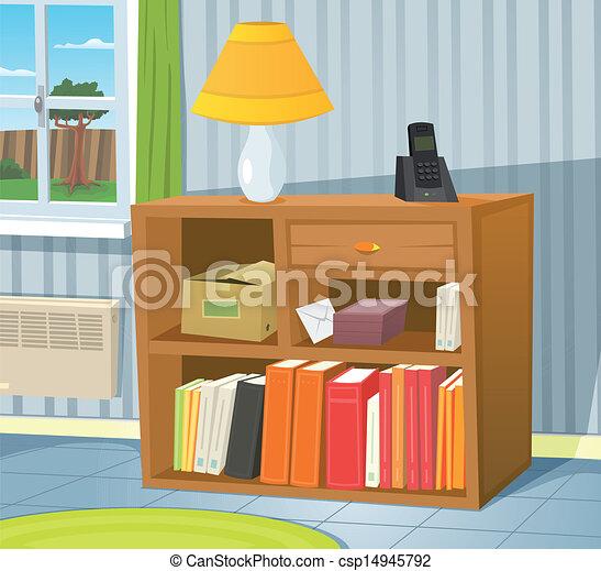 Vecteurs Eps De Maison Int Rieur Illustration De A Dessin Anim Csp14945792