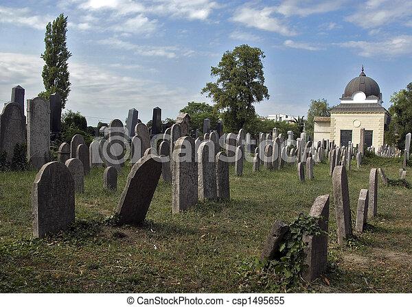 Jewish cemetery - csp1495655