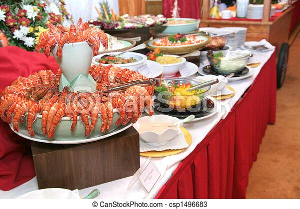 buffet dinner - csp1496683