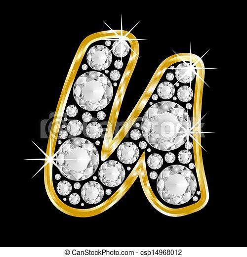 U Alphabet In Diamond Alphabet In Diamond Gold framed alphabet letter u