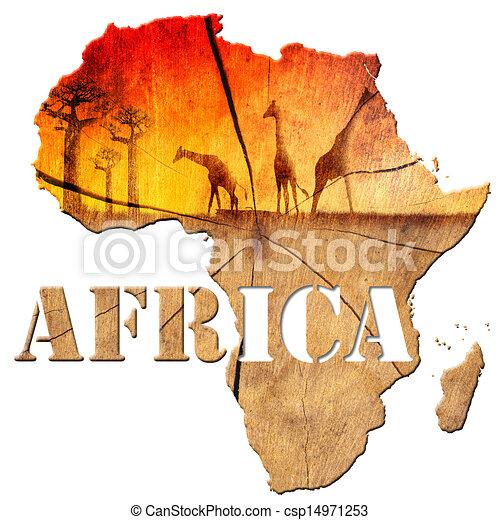 すべての講義 アフリカ地図 フリー : Africa Map Clip Art