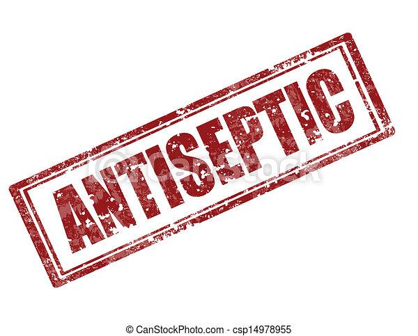 Antiseptic-stamp - csp14978955