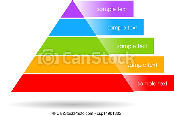 Layered pyramid - csp14981302