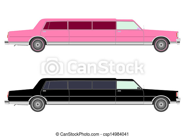 Eps Vector Of Stretch Limo In Two Colors Csp14984041