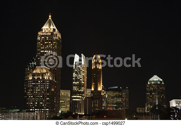 Atlanta, Georgia skyline. - csp1499027
