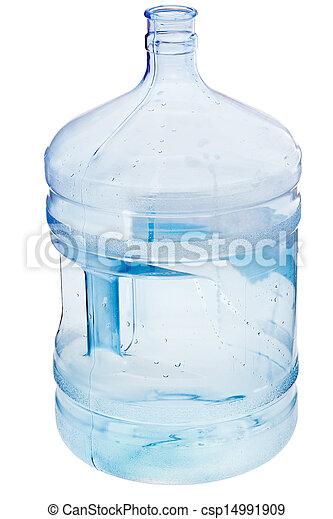 水, 加侖, 5, 瓶子 - csp149919... 5, 加侖, 水, 瓶子, 被隔离, 上