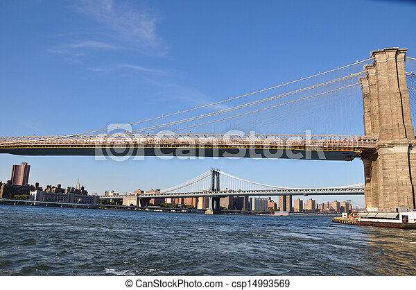 New York bridges - csp14993569