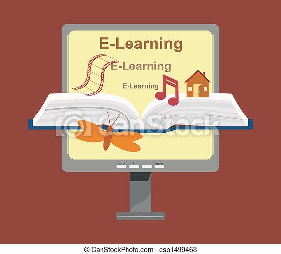 Vector E-Learning Concept - csp1499468