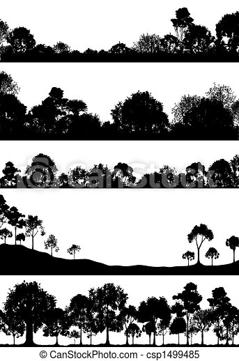 Woodland foregrounds - csp1499485