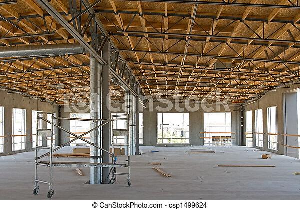 Industrial, Novo, construção - csp1499624