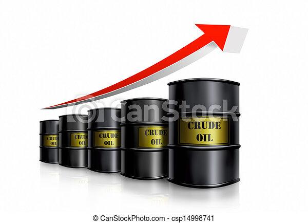 Oil Barrel Drawing Oil Barrel Cost Csp14998741