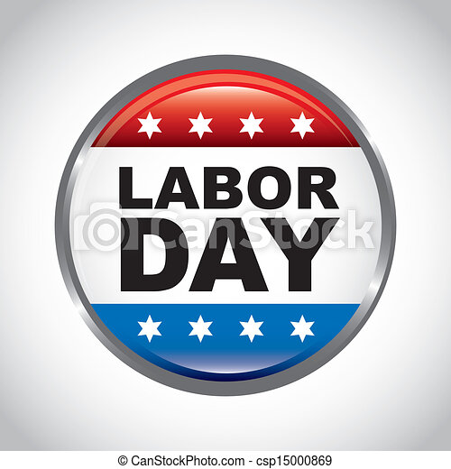 Labor Day Icon Labor day stock illustration