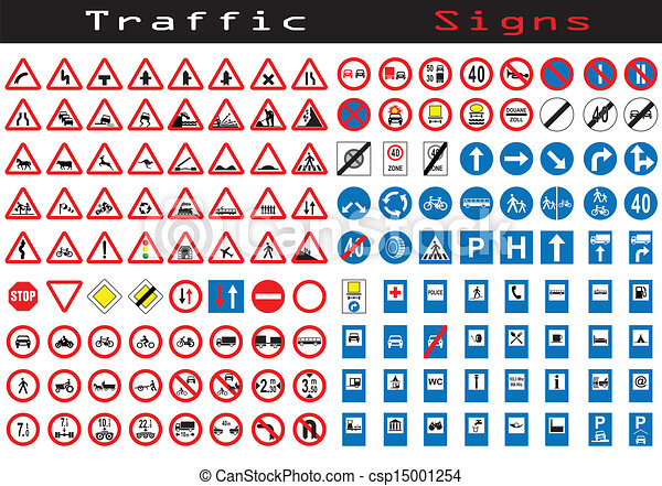 clipart vector of traffic sign collection of 144 symbols Person with Question Mark Clip Art Question Mark Border Clip Art