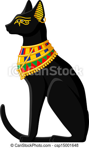 drawing of egyptian cat illustration of a black egyptian black cat clip art cartoon black cat clipart party city