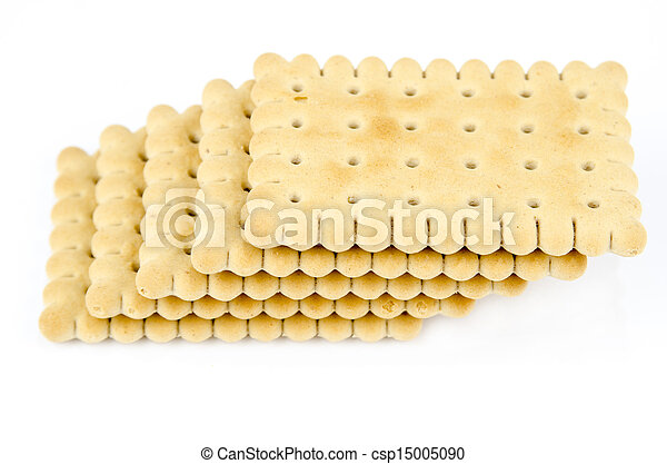 Bakery - Stack of classic biscuits - csp15005090