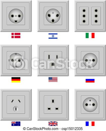 AC power sockets - csp15012335