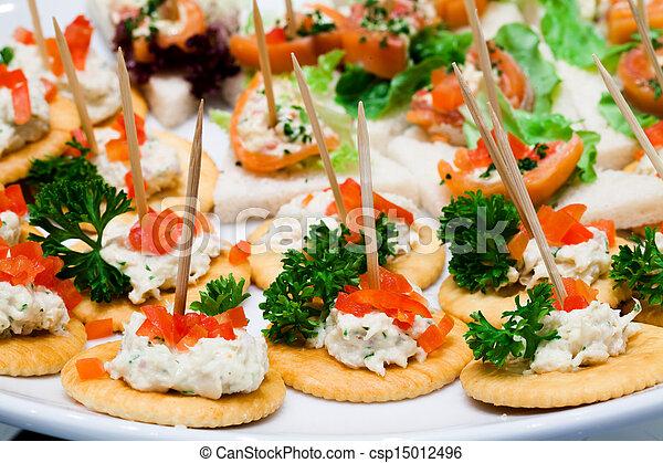 catering food - csp15012496
