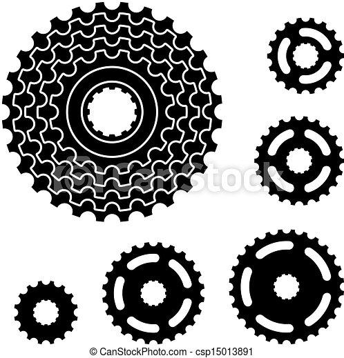 bike chain clipart