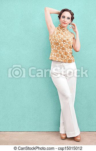 Elegant Rich Woman  - csp15015012