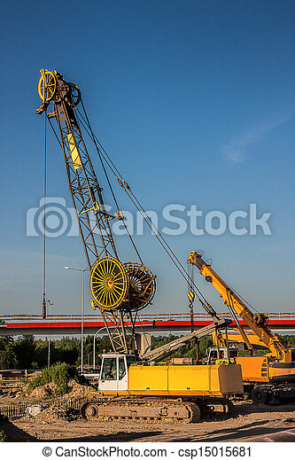 Automobile crane - csp15015681