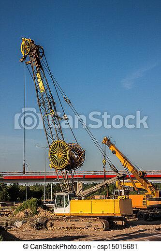 Automobile crane - csp15015681