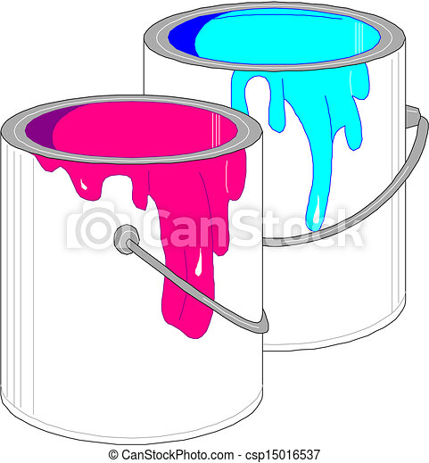 Paint Cans Royalty Free Vector EPS csp15016537