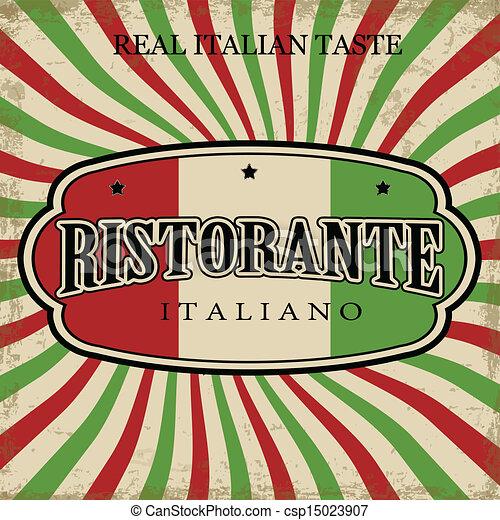 Restaurant Artwork Italian