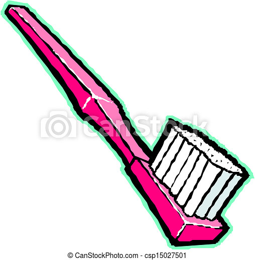 vector illustration - toothbrush vector... csp15027501 - Search Clip ...
