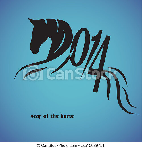 Horse Symbols Drawings Horse 2014 Year Chinese Symbol