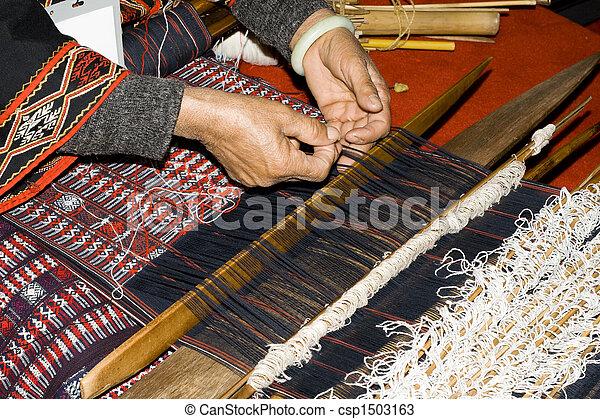 Chinese handcraft weave - csp1503163