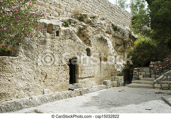 place of the resurrection of Jesus Christ  - csp15032822