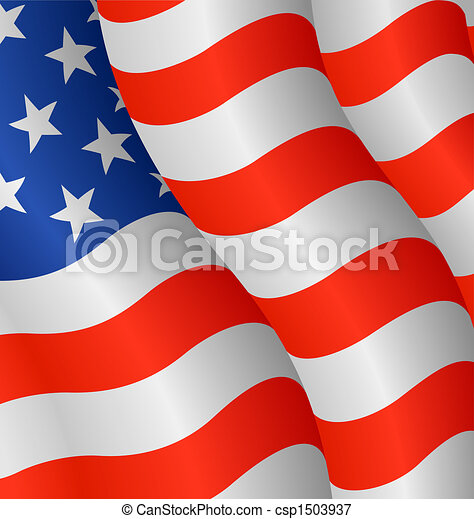Flag of the United States - csp1503937