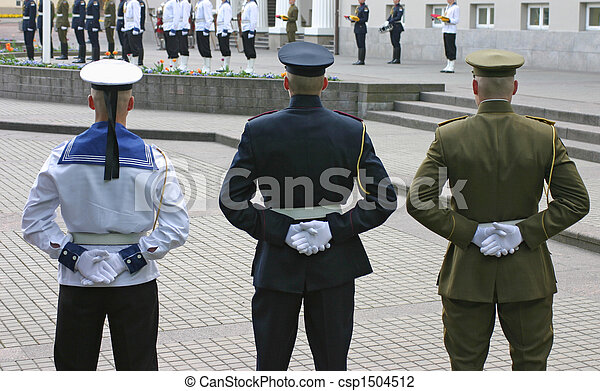 Honor guard - csp1504512