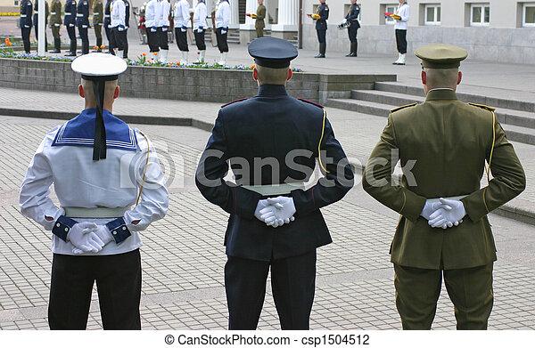 Honor guard  - csp1504512