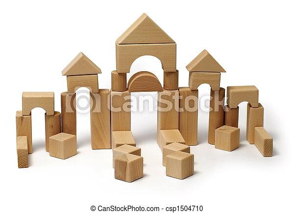 Photographies de bois jouet bloc construction jouet for Bloc construction bois