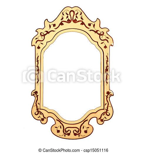 stock fotografie von weinlese rahmen leerer spiegel leerer weinlese csp15051116. Black Bedroom Furniture Sets. Home Design Ideas