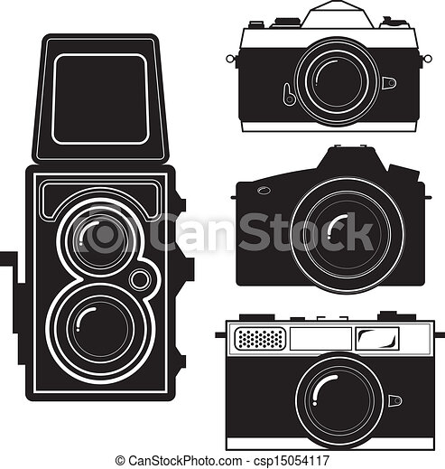 Clip Art Vintage Camera Clip Art vintage camera clip art vector graphics 11956 eps and set artby