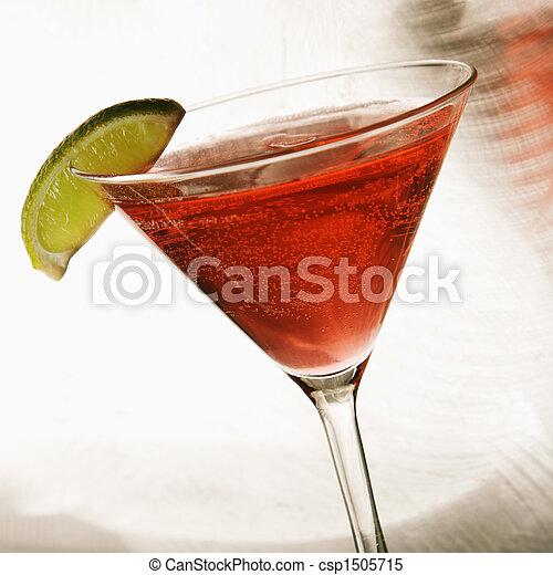 Still life of martini. - csp1505715