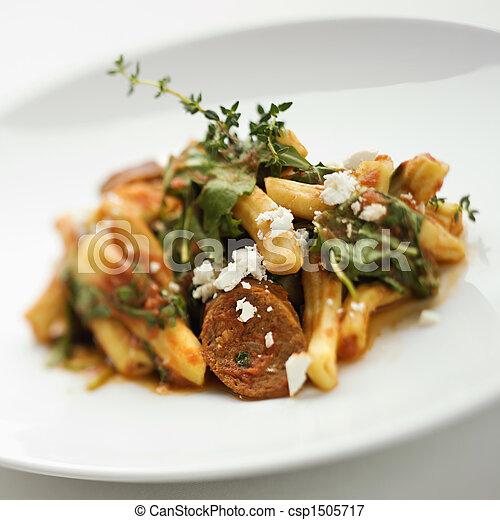Gourmet meal. - csp1505717