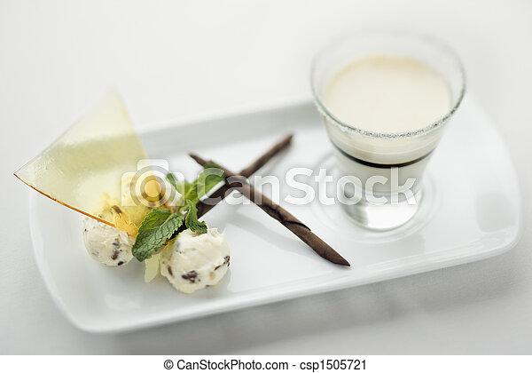Gourmet dessert. - csp1505721
