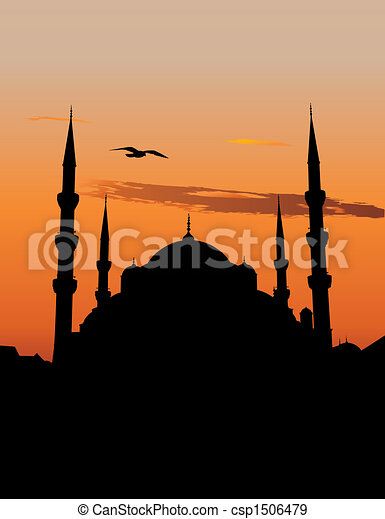 Blue Mosque in Istanbul - csp1506479
