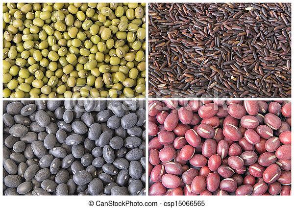 大豆, 粒, 拼贴艺术