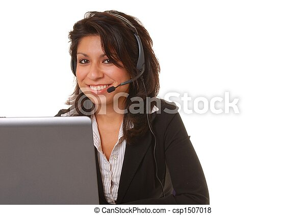 Latina Businesswoman - csp1507018