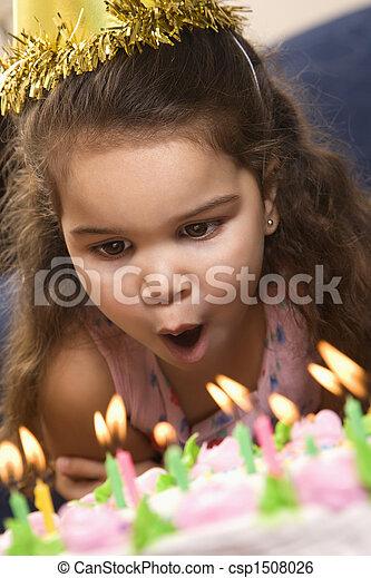 Birthday girl.