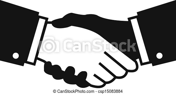 Vector handshake Vector Clipart Royalty Free. 14,298 Vector ...