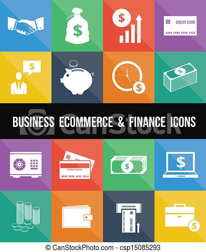 Stylish Business Ecommerce Banking - csp15085293