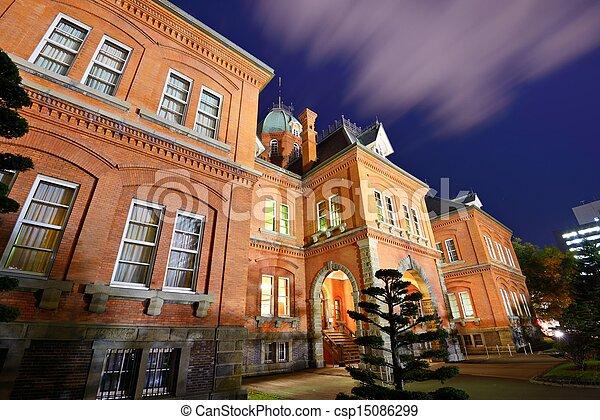Former Hokkaido Government Office - csp15086299