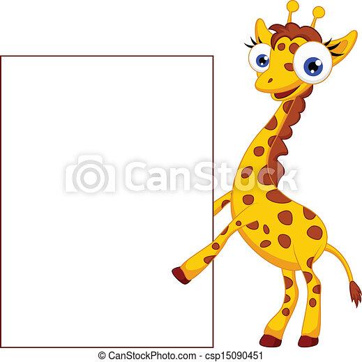 De jirafas de caricaturas - Imagui