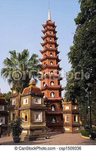 Tran Quoc Pagoda in Hanoi - csp1509336